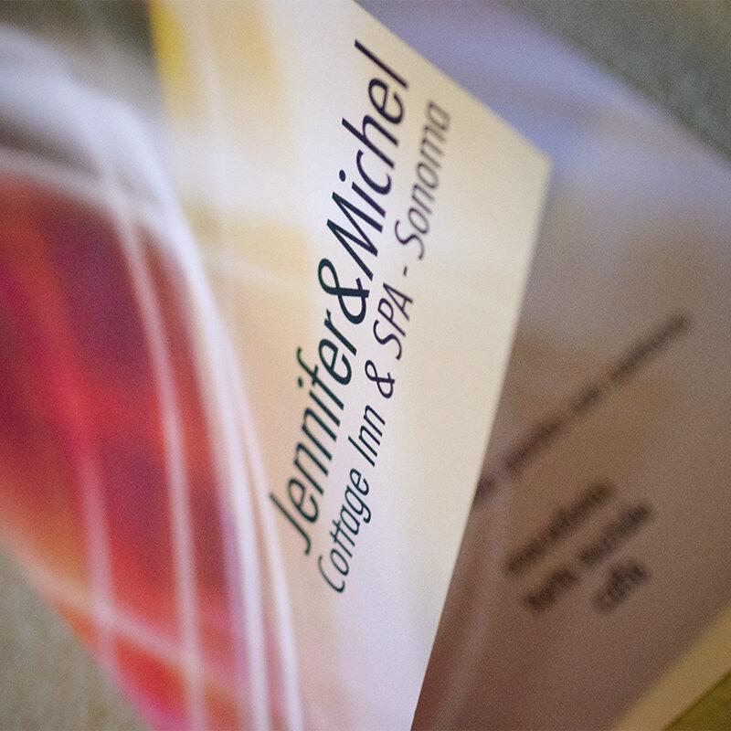 menu d'autore